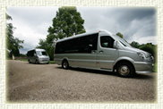 12 and 16 passenger Luxury Mini Coaches